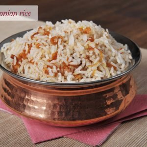 115-basmati onion rice